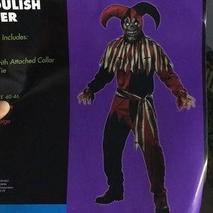 Ghoulish Jester costume